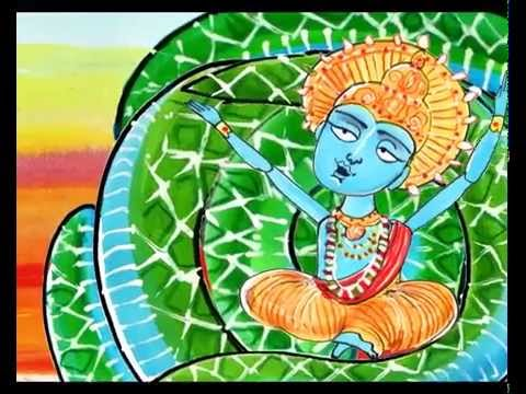 Hindu creation story - YouTube