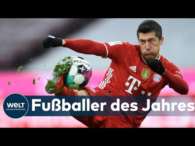 ROBERT LEWANDOWSKI: STÜRMER vom FC Bayern München ist erneut Deutschlands Fußballer des Jahres