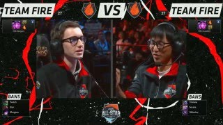 Bjergsen vs Doublelift - 1v1 Tournament Finals - All Stars Los Angeles 2015