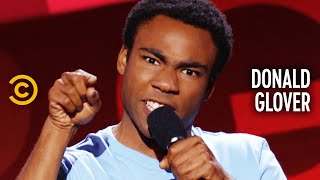 "Donald Glover: Why Are There No ""Crazy Man"" Stories? - Comedy Central Presents"
