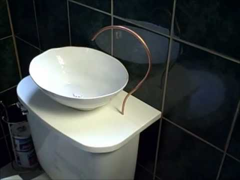 Conserve water with a DIY Toilet Sink - YouTube