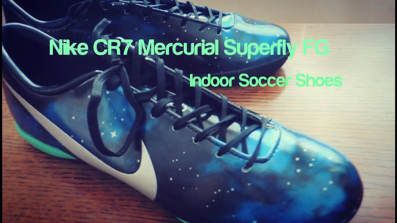 9e663744724 Nike Mercurial Victory CR7 IV IC Indoor Soccer Shoes - YouTube