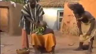 Exorcise - Funny  - بسیار خنده دار..جن گیری در آفریقا