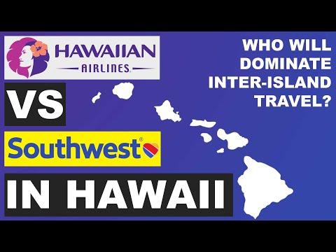 Southwest VS Hawaiian Airlines Inter-island travel