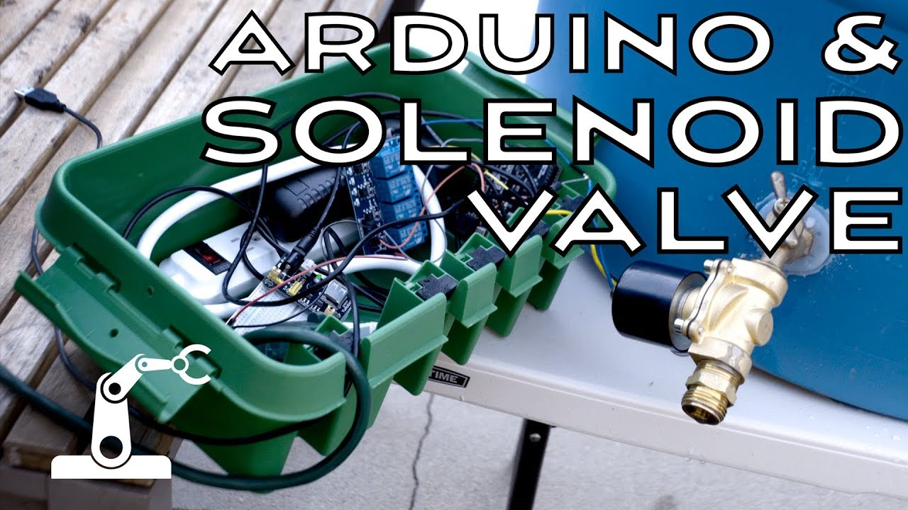 arduino solenoid valve circuit how to control water flow with an arduino [ 1280 x 720 Pixel ]