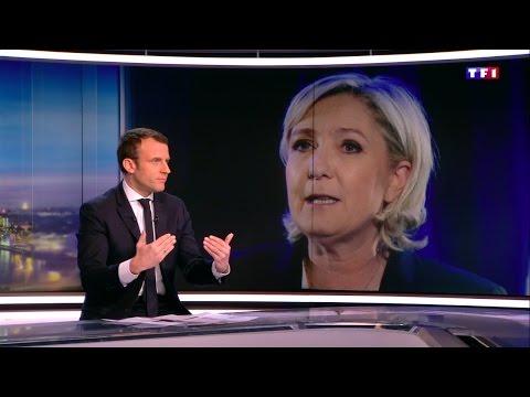 Emmanuel Macron au JT de TF1