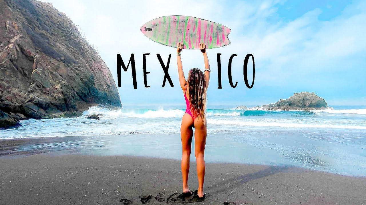 LEARNING TO SKIMBOARD IN MEXICO!!