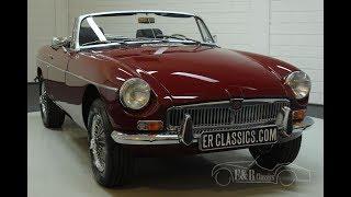 MG B cabriolet 1977-VIDEO- www.ERclassics.com