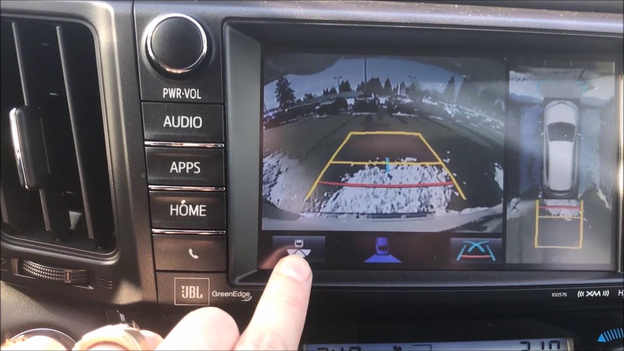 Rav4 Bird S Eye View Camera How To The Chris Turner Experience At Alberni Toyota