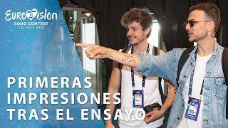"""Miki: """"El escenario de Eurovisión es una locura máxima""""   Eurovisión 2019"""