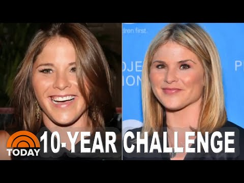 2009 Vs. 2019: Jenna Bush Hager | TODAY