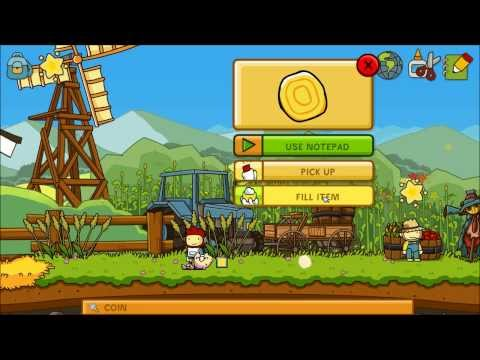 Let's Play Scribblenauts Unlimited Part 9 - Misc Object Shards |