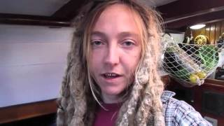 Liveaboard Life Vlog Day 5 - Norna at the Boatyard, and Layla Runs Away