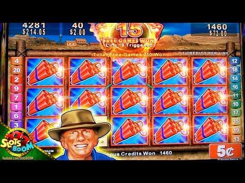 MONEY BLAST JACKPOT!!! GREAT BONUS On 5c Konami Slot Machine
