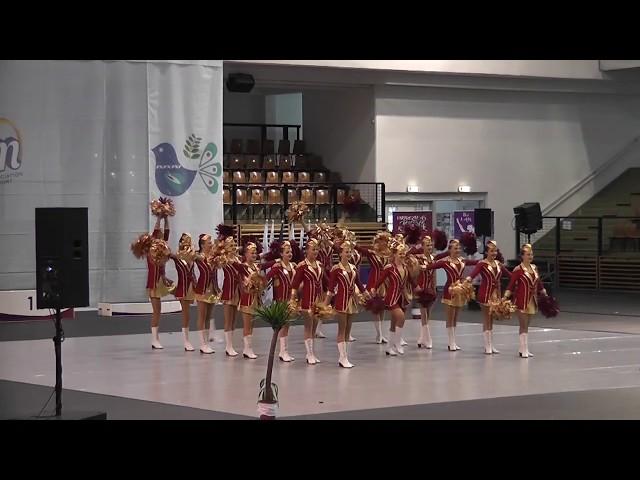 AP klub Brušperk - Top Teens / Mistrovství Evropy mažoretek 2019 Győr - Classic POM senior