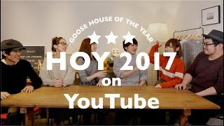 Goose house of the year 2017 on You Tube!(With Kei's translation)
