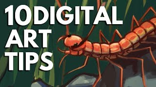 10 Digital Art Tips for Beginners