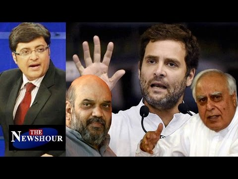 Rahul Gandhi Justifying His 'Khoon Ki Dalali' Comment: The Newshour Debate (7th Oct)