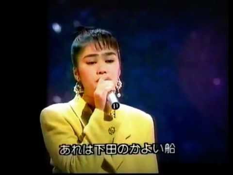 星美里 ☆ 『港雨情』 ☆ 夏川りみ 演歌歌手時代 - YouTube