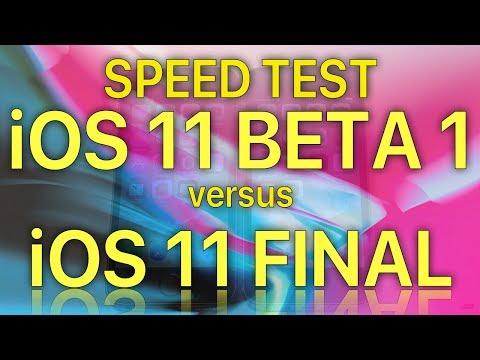 iOS 11 GM vs iOS 11 Beta 1. How much progress was made since the first Beta
