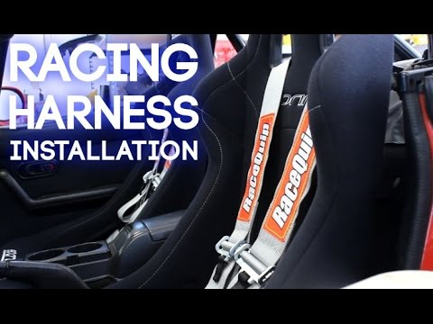 Install 5 Point Racing Harnesses - YouTube