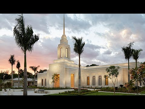 See First Official Photos Inside Haiti's First Temple + Open House