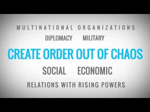Order from Chaos: Foreign policy in a troubled world