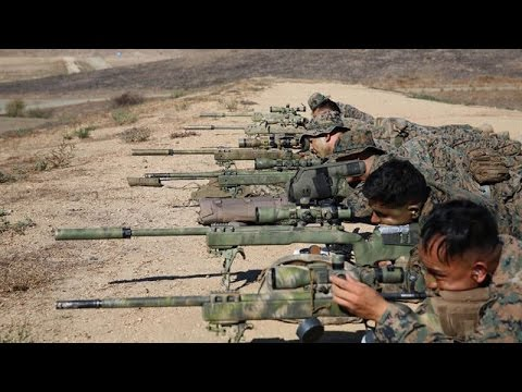 Marine Sniper Training - The First 2 Weeks of USMC Scout Sni