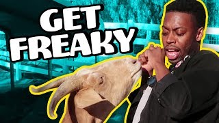 GETTING FREAKY ON A FARM! (Squad Vlogs - Field Trip)