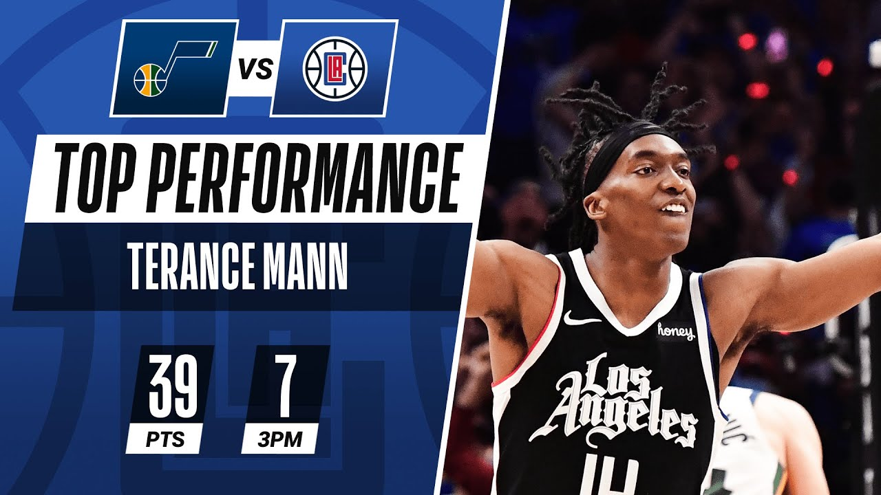 Terance Mann CRAZY CAREER-HIGH 39 PTS & 7 3PM in Game 6 vs Jazz! 🔥