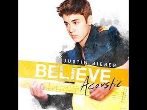 Justin Bieber - Track 8 (Fall) (Believe Acoustic) (Lyrics)