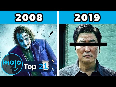 Top 21 Best Movies of Each Year (2000 - 2020)