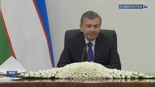 Президент Шавкат Мирзиёев провел совещание по вопросам нефтегазовой и химической промышленности