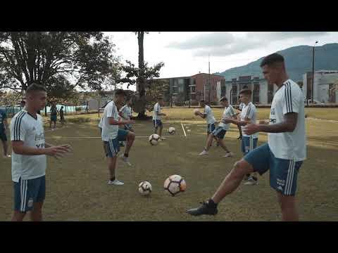 #SelecciónSub23 Nuevo entrenamiento en Pereira, mañana partido vs Ecuador.