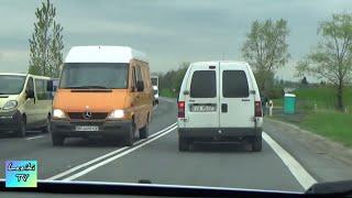 Едем в Польшу на машине стоим в очереди на границе | GRANICA UKRAINA POLAND