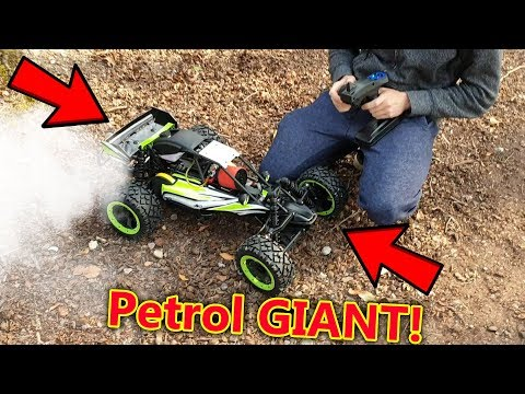 Cheap Giant Petrol RC Car Test - Rovan Q-Baja