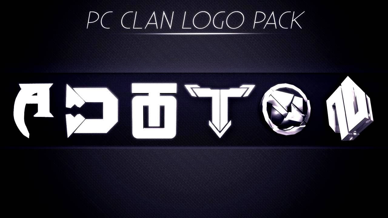 Pc Clan Logo Pack Giveaway By Trickyhdpc Youtube
