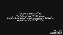 Six feet under-Billie Eilish | Deutsche Übersetzung 🖤
