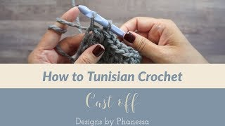 How to Tunisian Crochet - Cast off