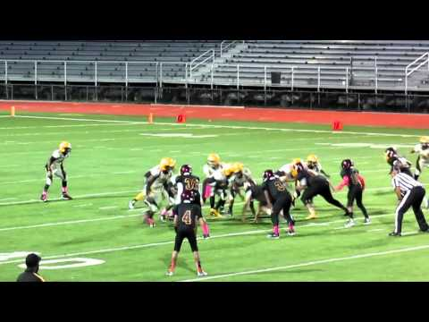Amazing Middle School Running Back 2015 Micah McDonald, 6th, 7th and 8th Grade Football Highlights