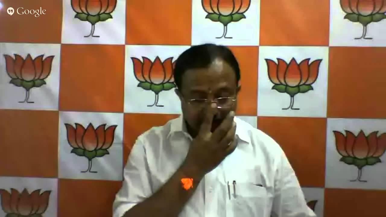 Hangout with v muraleedharan state president bjp kerala for V muraleedharan bjp