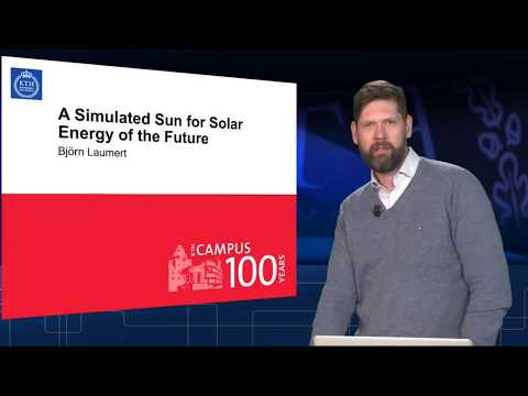A Simulated Sun for Solar Energy of the Future | Björn Laumert