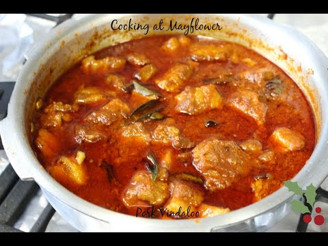 Quick and easy Pork vindaloo - Kochi style l Pressure cooker recipe