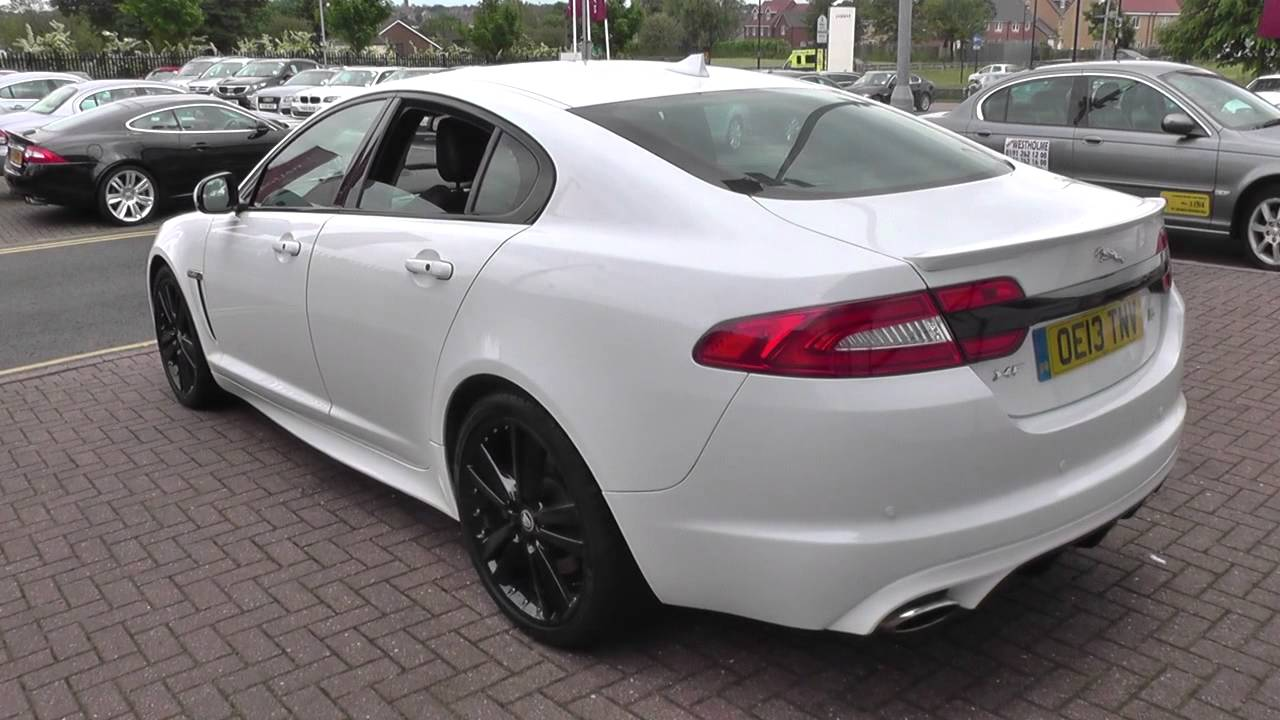 jaguar xf v6 s portfolio 4dr auto start stop u7634 youtube. Black Bedroom Furniture Sets. Home Design Ideas