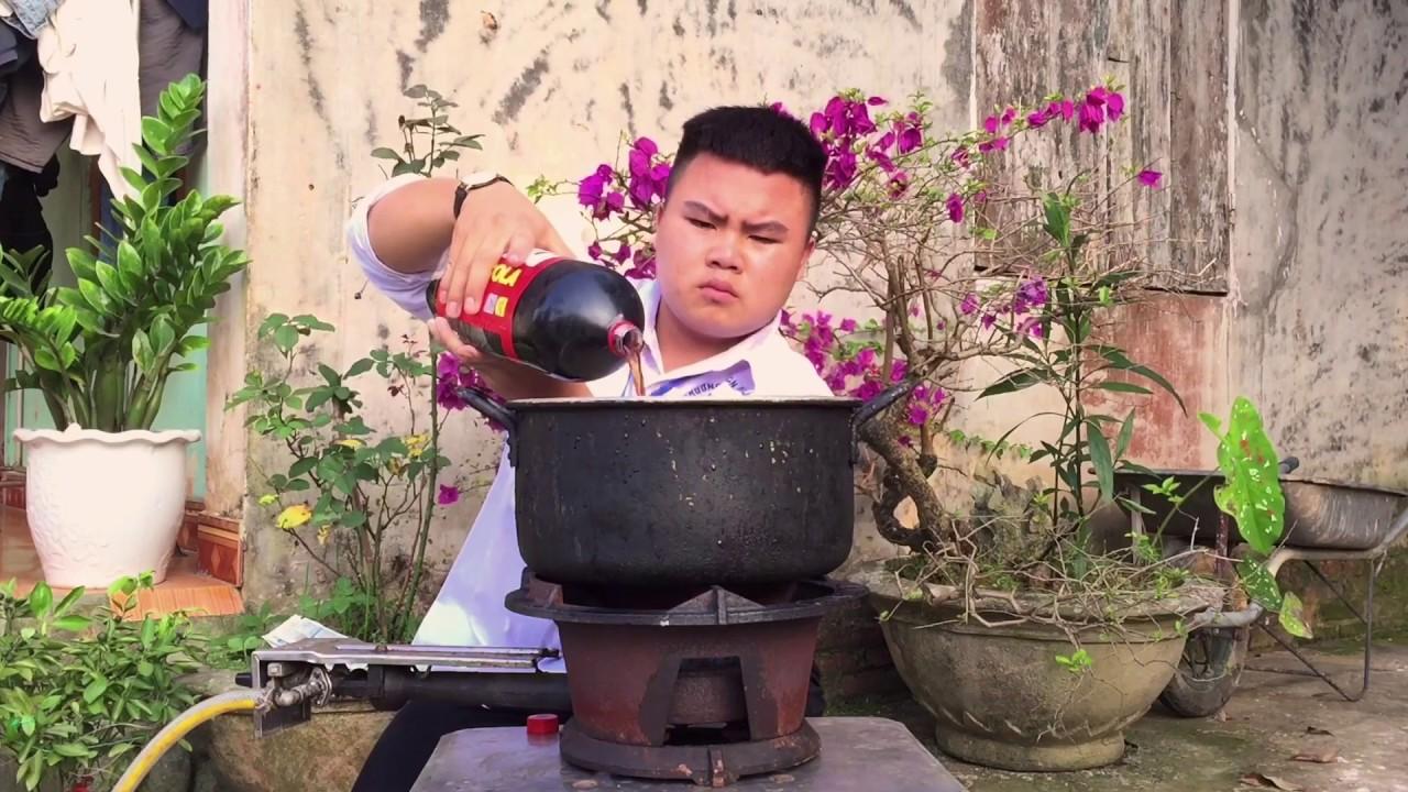 CoCaCoLa Làm Thạch Rau Câu CoCaCoLa Phong Cách Nam Béo Vlogs