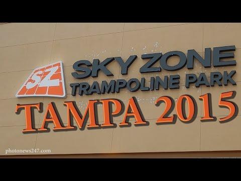 Sky Zone Indoor Trampoline Park coming to Tampa, FL