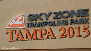 sky zone indoor trampoline park coming to tampa fl