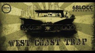 Trap Beats Bass Music Loops - 6Blocc West Coast Trap