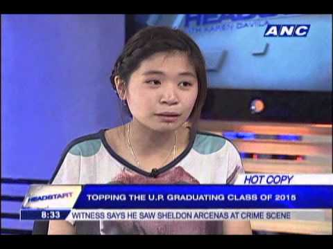 Meet Tiffany Grace Uy, UP Diliman's 'record breaking' valedictorian