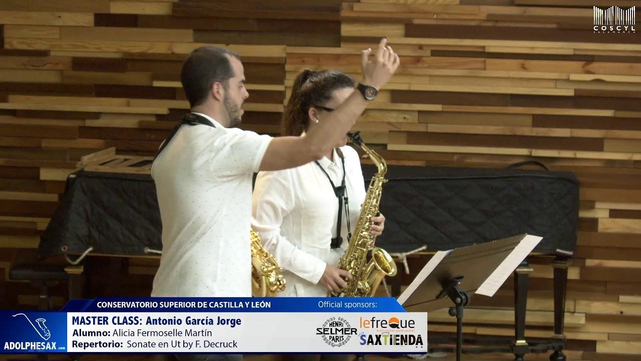 MASTER CLASS - Antonio Garcia Jorge - Alicia Fermoselle Martin (COSCYL)